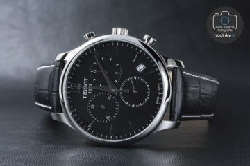 Masívny chronograf luxusných hodiniek TISSOT pre milovníkov kvalitných doplnkov